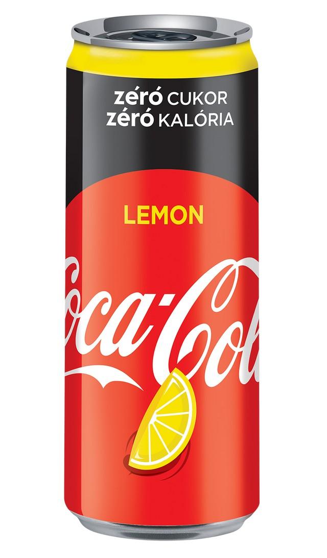 Itt az új Coca-Cola zero Lemon