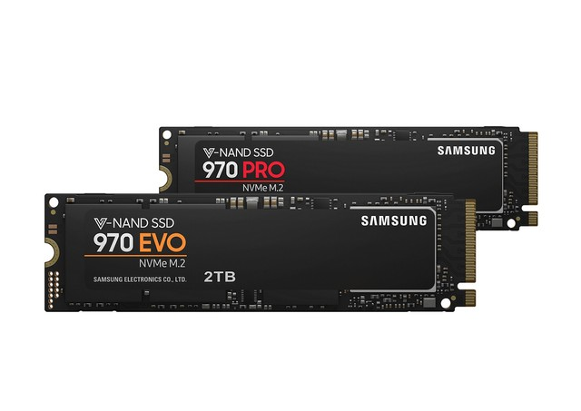 Samsung 970 PRO és EVO SSD