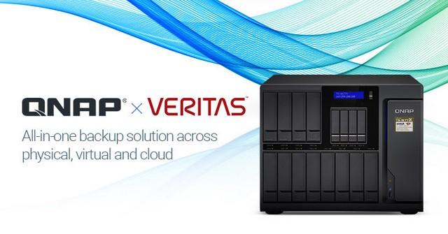 A QNAPEnterprise NAS eszközök támogatják a Veritas Backup Exec mentést