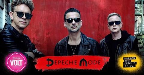 Már csak egyet kell aludni és a DepecheMode fellép a Volt Fesztiválon