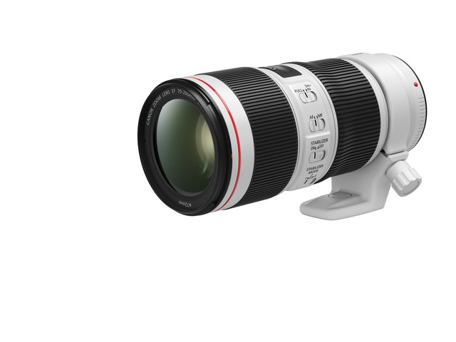 A Canon új termékekkel bővíti a népszerű 70-200 mm-s  L-sorozat objektívcsaládját