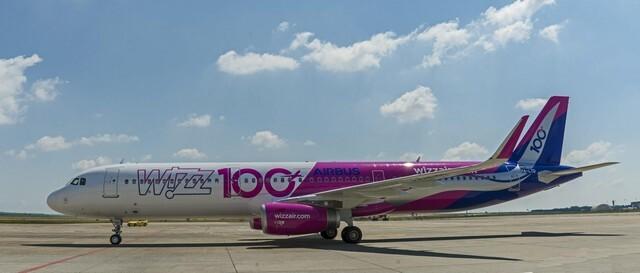 Megérkezett a Wizz Air-flotta 100. repülőgépe