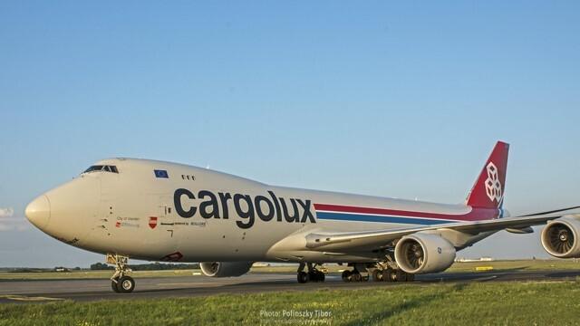 Cargolux Budapesten