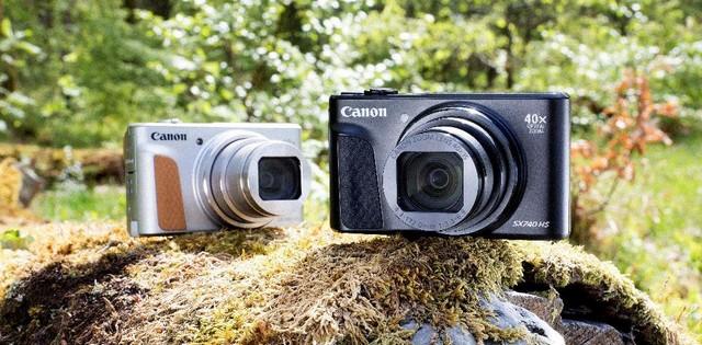 Itt az új Új Canon PowerShot SX740 HS fényképezőgép