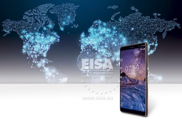 A Nokia 7 plus nyerte idén az EISA legjobb fogyasztói okostelefon díját