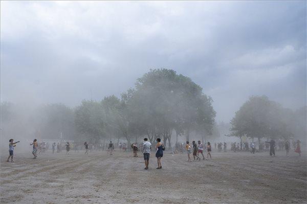 Átvonult a vihar a Sziget felett is, de káresemény nem történt