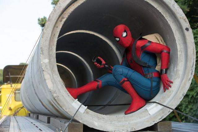 A Pókember forgatás vége